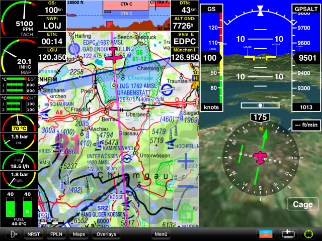 icao karte digital kostenlos Sky Map News