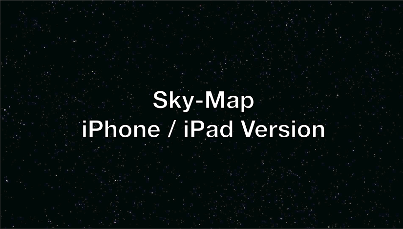 Sky-Map iPhone ⁄ iPad on